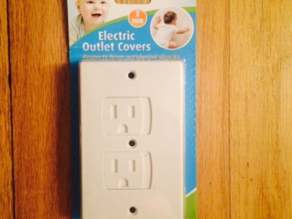 Toddler Mom Approve; Self Closing Outlet Covers