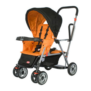Review: Joovy Caboose Stand-on Tandem Stroller (@Joovy)