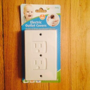 Toddler Mom Approved; Self Closing Outlet Covers